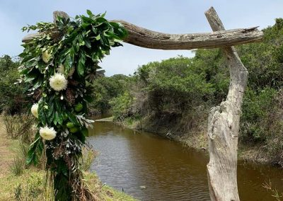 river ceremony arch way
