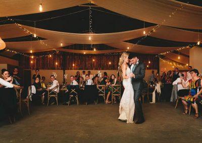 wedding reception shed